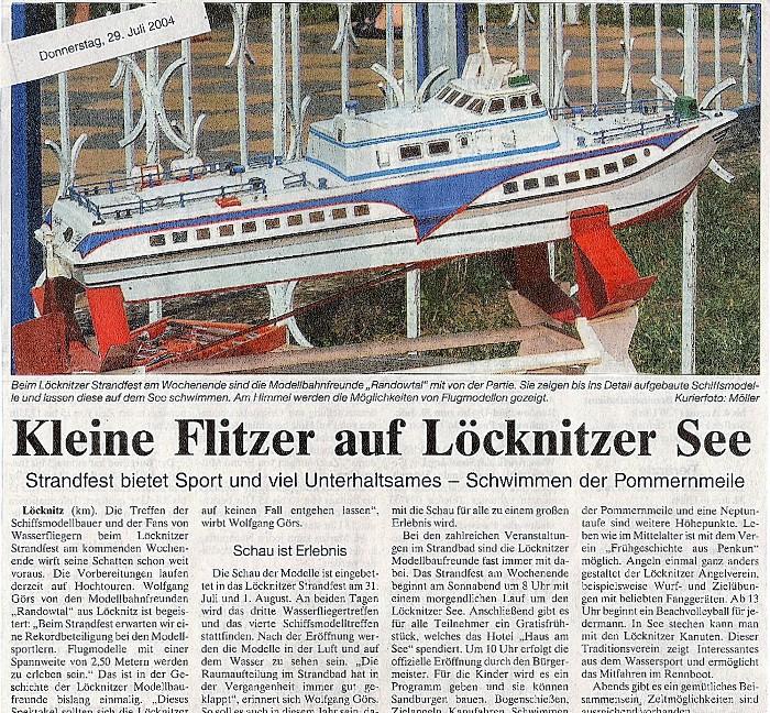Strandfest Löcknitz 08.04